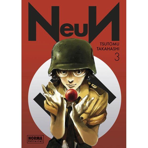 Neun #03 Manga Oficial Norma Editorial