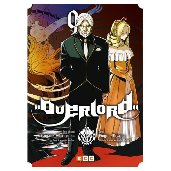 Overlord #09 (Spanish) Manga Oficial ECC Ediciones