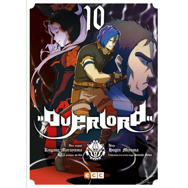 Overlord #10 Manga Oficial ECC Ediciones