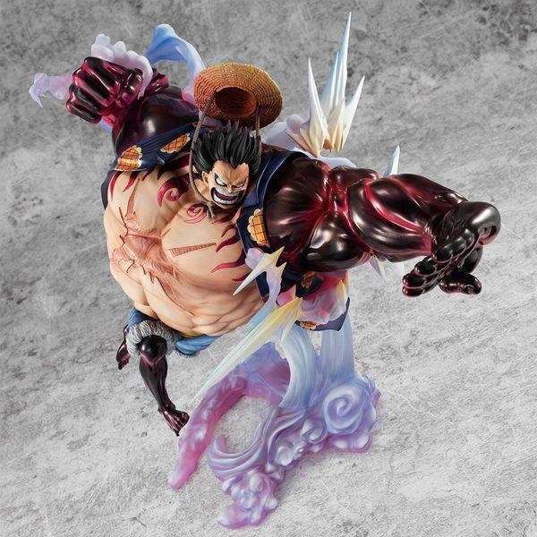 Figura Monkey D Luffy Gear 4 Bounce Man Ver 2 One Piece Excellent Model P.O.P. SA Maximum