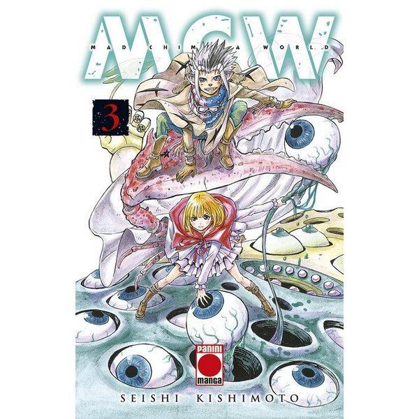 Mad Chimera World #03 Manga Oficial Panini Manga