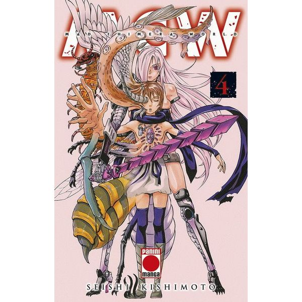 Mad Chimera World #04 Manga Oficial Panini Manga