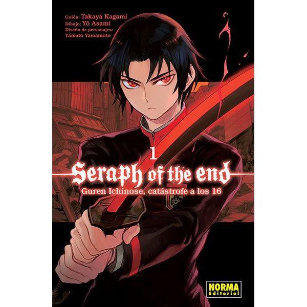 Seraph Of The End: Guren Ichinose, Catástrofe A Los Dieciséis #01 Manga Oficial Norma Editorial (spanish)