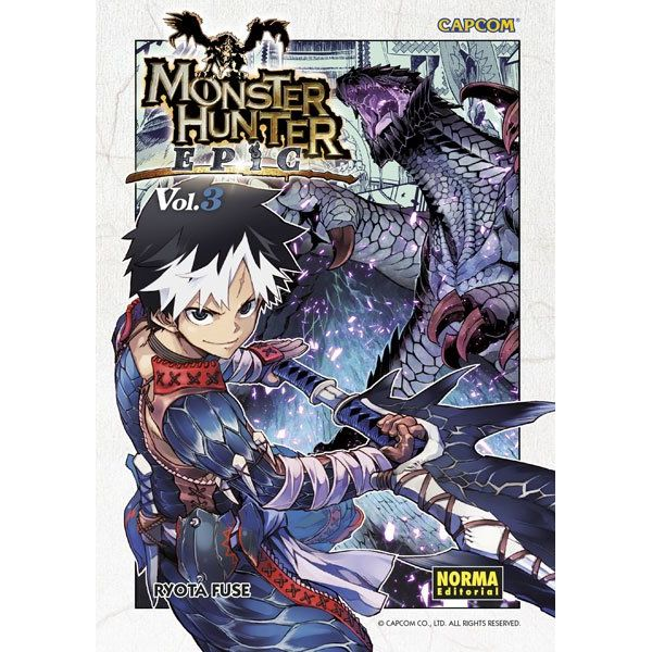 Monster Hunter Epic #03 Manga Oficial Norma Editorial