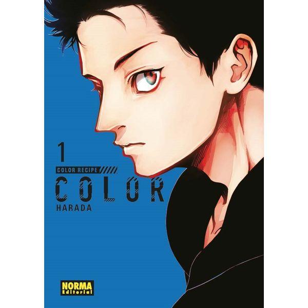 Color Recipe #01 Manga Oficial Norma Editorial