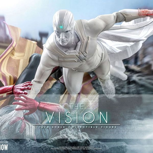 Figura Vision WandaVision Marvel Comics Hot Toys