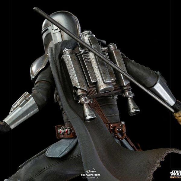 Estatua The Mandalorian Star Wars The Mandalorian BDS Art Scale