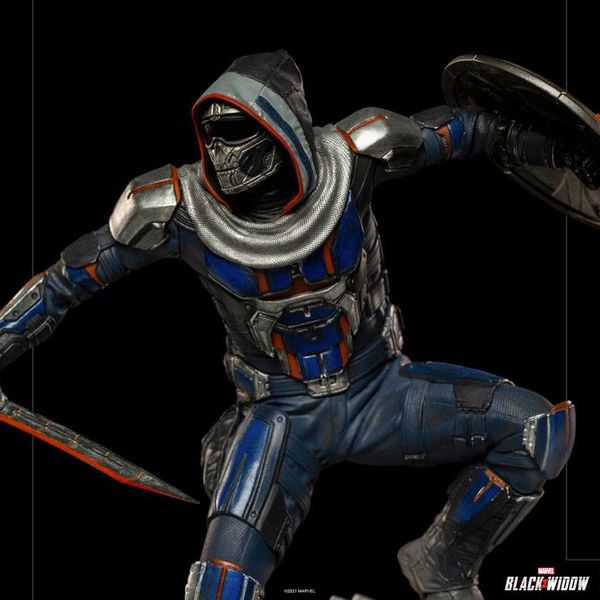 Taskmaster Figure Black Widow Marvel Comics BDS Art Scale