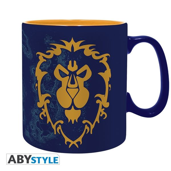 Taza For the Alliance World of Warcraft
