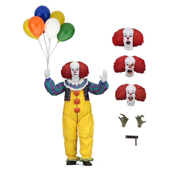 Ultimate Pennywise Figure Stephen King's It 1990