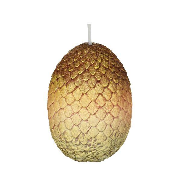 Vela Huevo de Dragon dorado Juego de Tronos