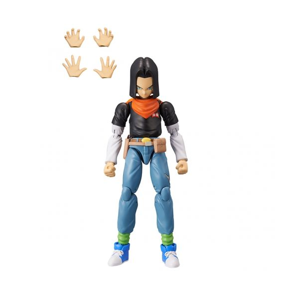 Androide 17 Figure Dragon Ball Z Dragon Stars Series