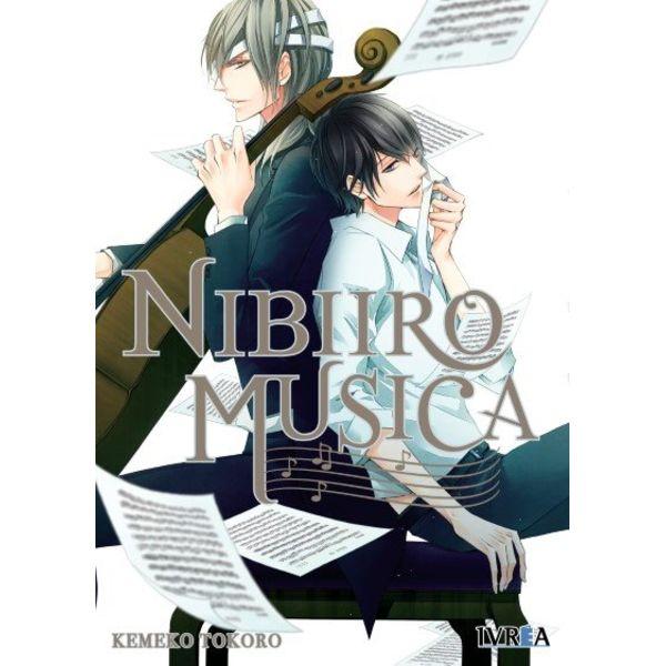 Nibiiro Musica #01 Manga Oficial Editorial Ivrea (spanish)