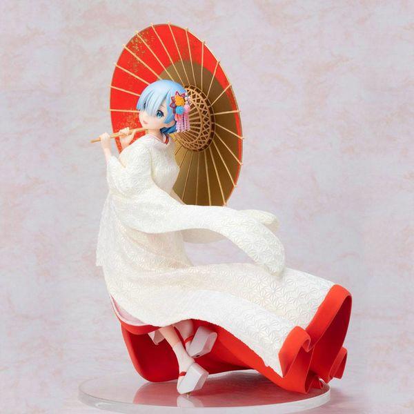 Figura Rem Shiromuku Ver Re Zero F Nex
