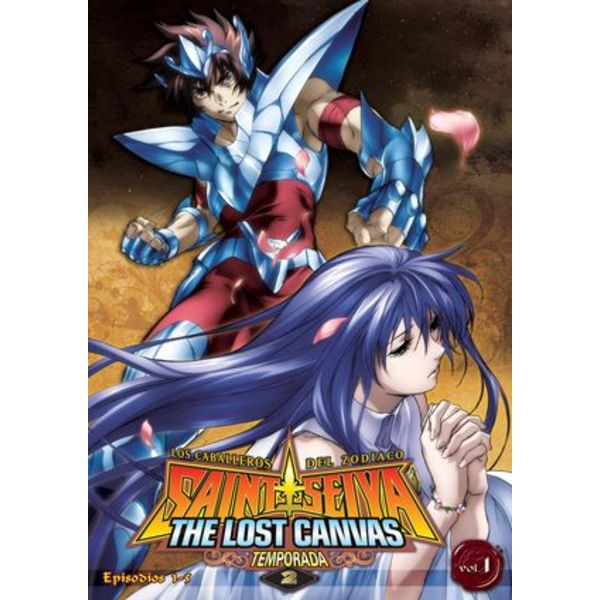 Saint Seiya The Lost Canvas Temporada 2 Vol. 1 DVD