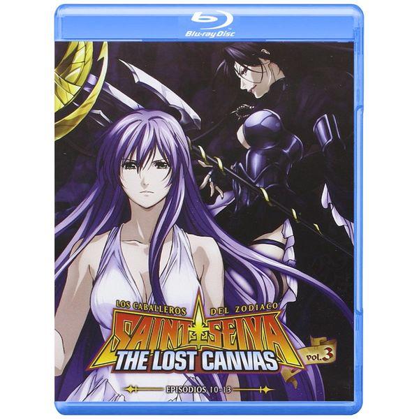Saint Seiya The Lost Canvas Temporada 1 Vol 3 Episodios 10-13 Bluray