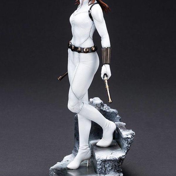 Black Widow White Costume Limited Edition Figure Marvel Comics ARTFX Premier