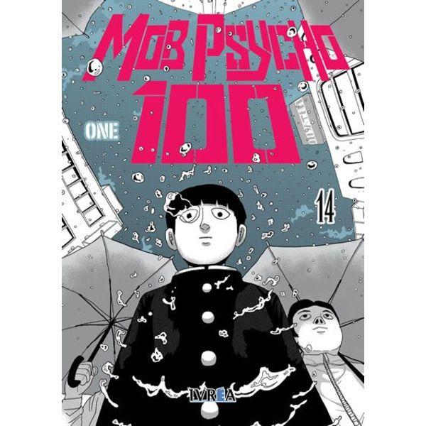 Mob Psycho 100 #14 Manga Oficial Ivrea