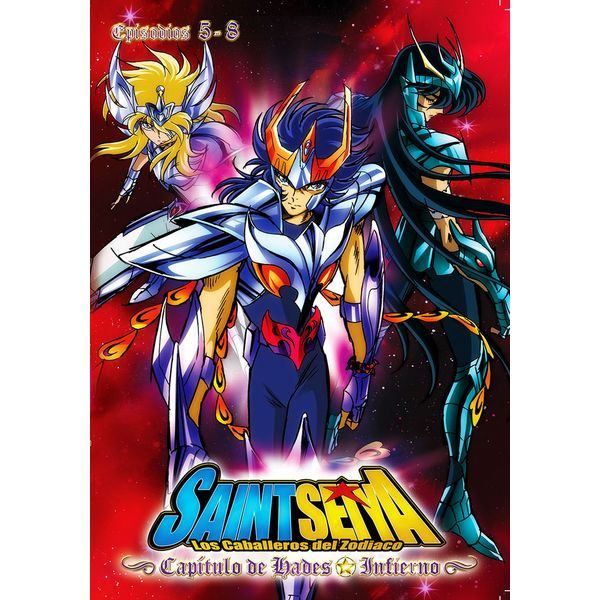 Hades Chapter: Infierno Saint Seiya Vol. 2 DVD