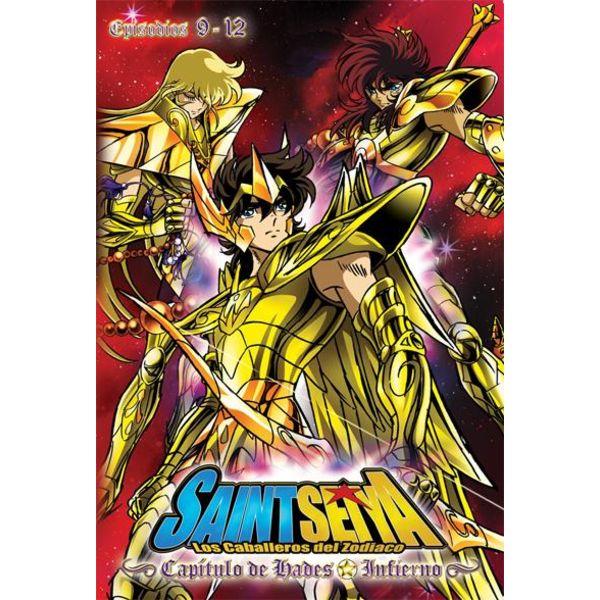 Hades Chapter: Infierno Saint Seiya Vol. 3 DVD