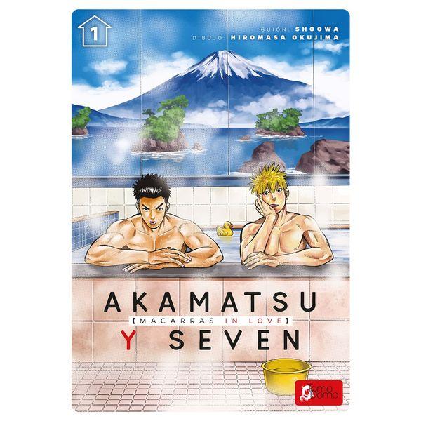 Akamatsu Y Seven Macarras In Love #01 Manga Oficial Tomodomo Ediciones (spanish)
