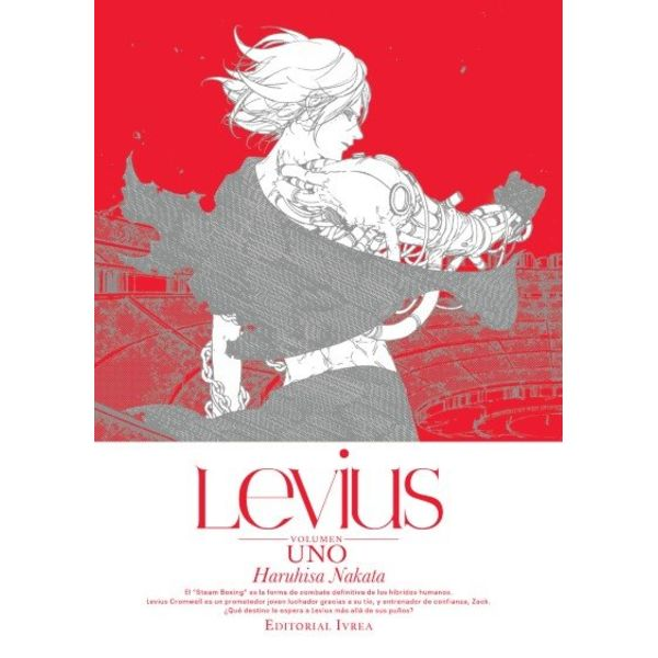 Levius #01 Manga Oficial Ivrea