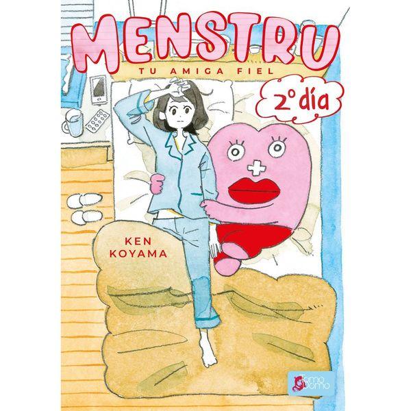 Menstru Tu amiga fiel #02 Manga Oficial Tomodomo Ediciones
