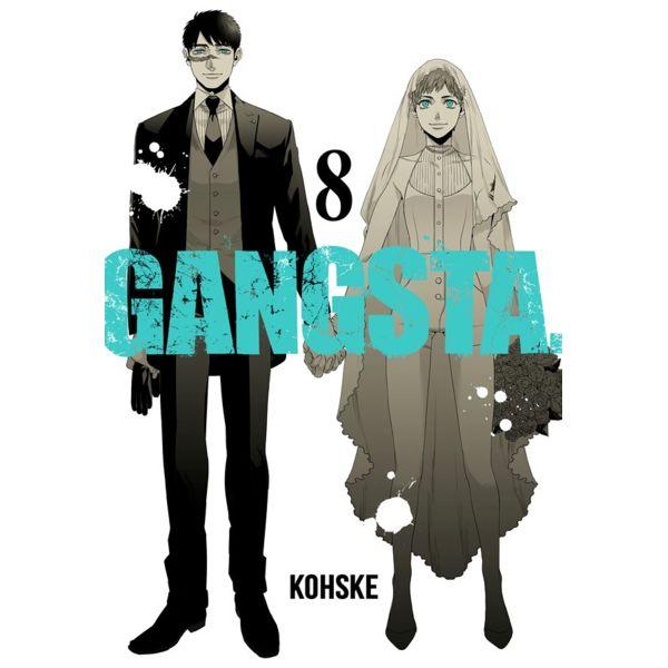 Gangsta #08 Manga Oficial Milky Way Ediciones