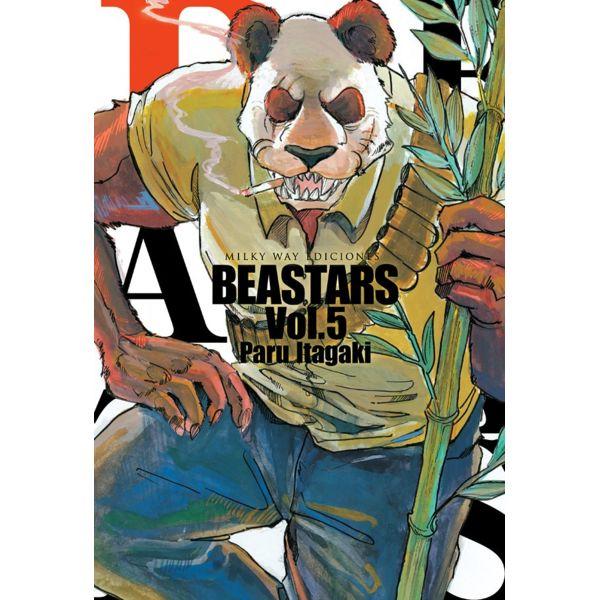 Beastars #05 Manga Oficial Milky Way Ediciones