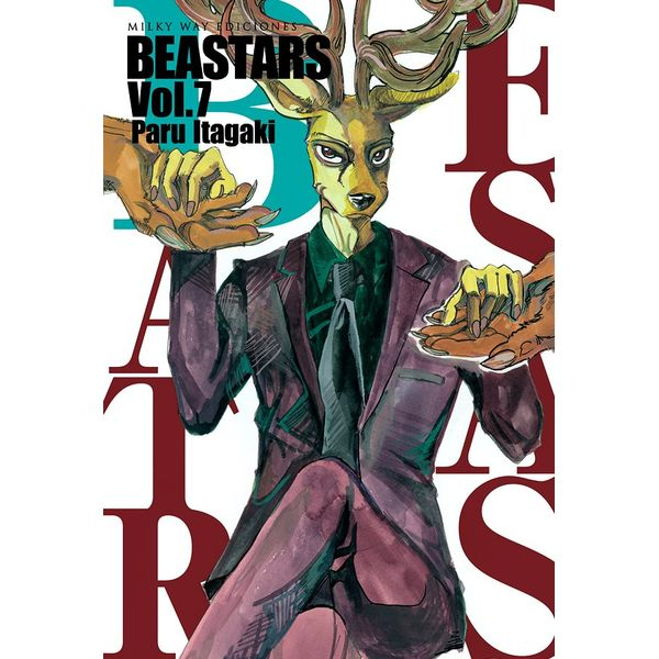 Beastars #07 Manga Oficial Milky Way Ediciones