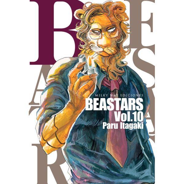 Beastars #10 (spanish) Manga Oficial Milky Way Ediciones