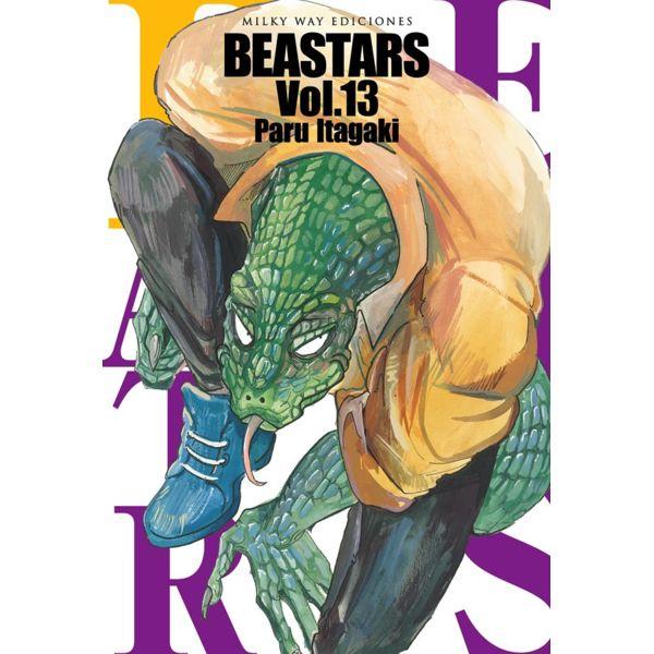Beastars #13 (spanish) Manga Oficial Milky Way Ediciones