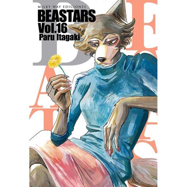 Beastars #16 Manga Oficial Milky Way Ediciones
