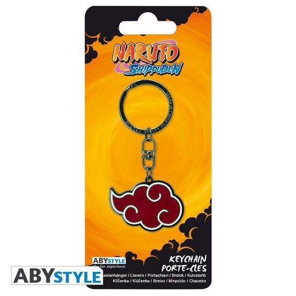 Akatsuki Cloud Keychain Metallic Naruto Shippuden