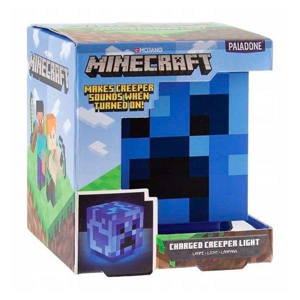 Lampara 3D Creeper Electrico Minecraft