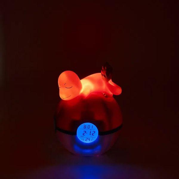 Lampara Despertador Charmander Pokemon 15 cm