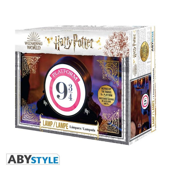 Lampara 3D Anden 9 3/4 Harry Potter
