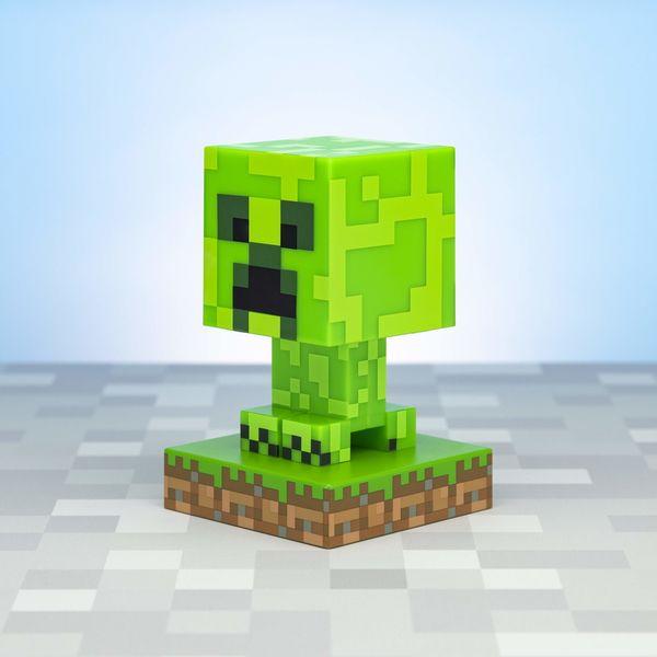 Lampara 3D Creeper Minecraft