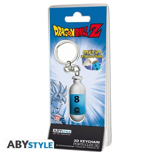 Llavero Capsula Hoi-Poi Azul Dragon Ball