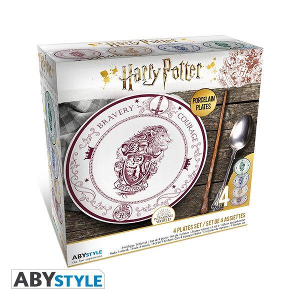 Hogwarts Houses Dishes Harry Potter