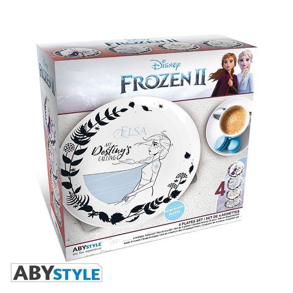 Frozen 2 Heroes Plates