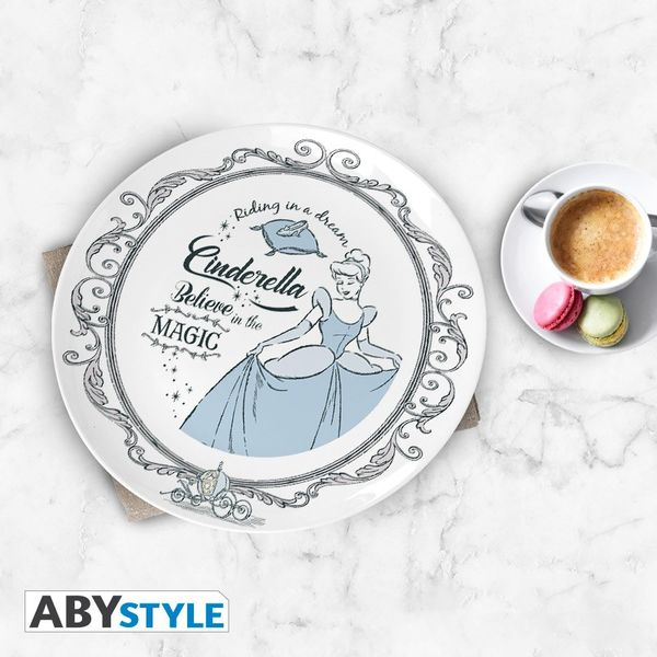 Disney Princesses Plates Set of 4