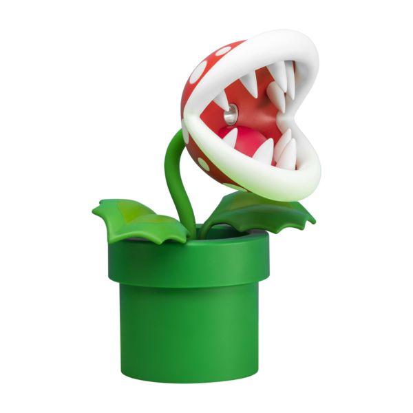 Piranha Plant 3D Lamp Super Mario Nintendo
