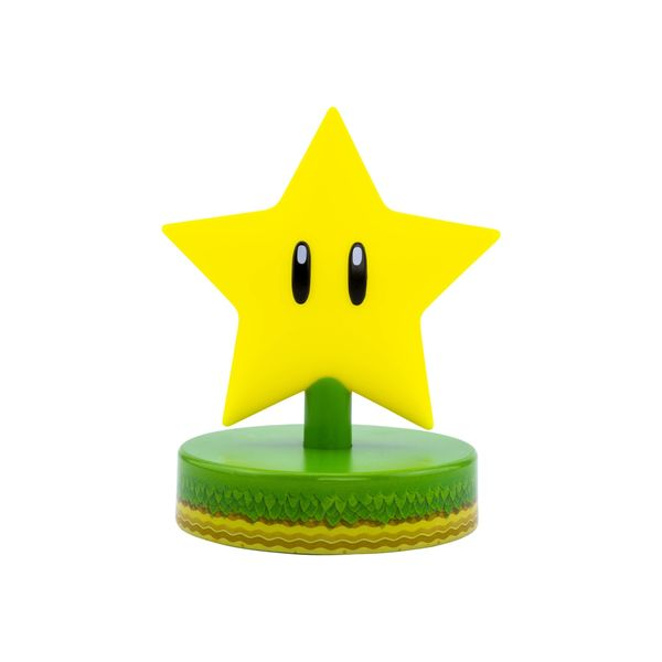 Super Star Icon Light 3D Lamp Nintendo