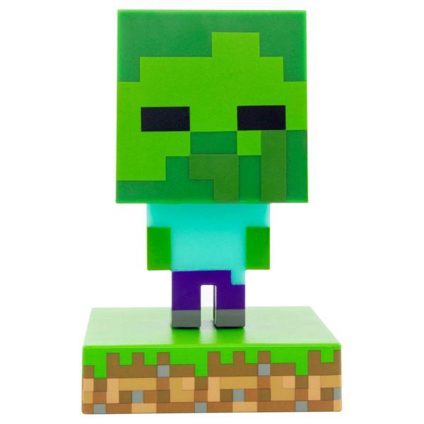 3D Lamps Zombie Minecraft