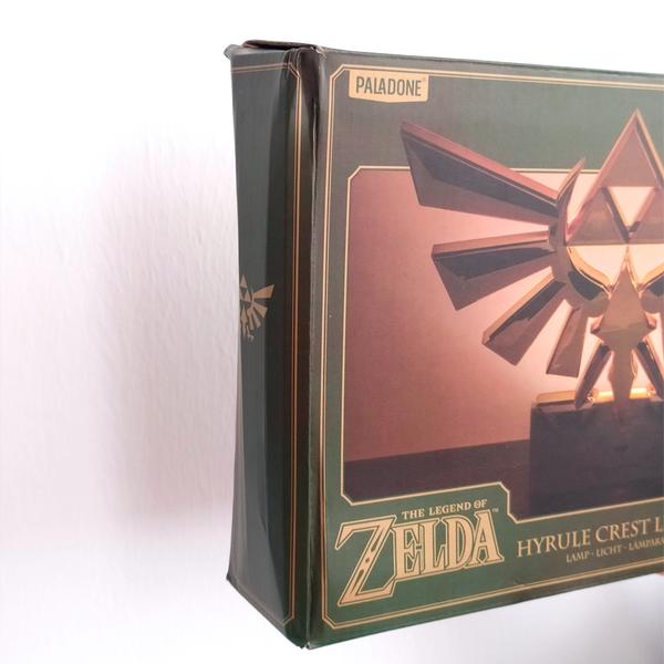 Lámpara Hyrule Crest Light The Legend of Zelda *Embalaje dañado*