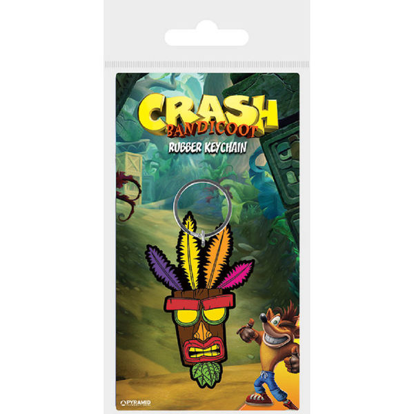 Llavero Aku Aku Crash Bandicoot