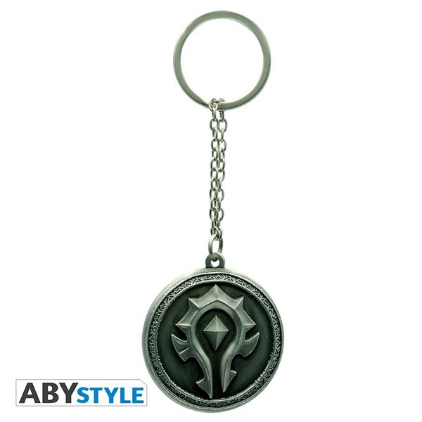 Horde Keychain World Of Warcraft ABYstyle