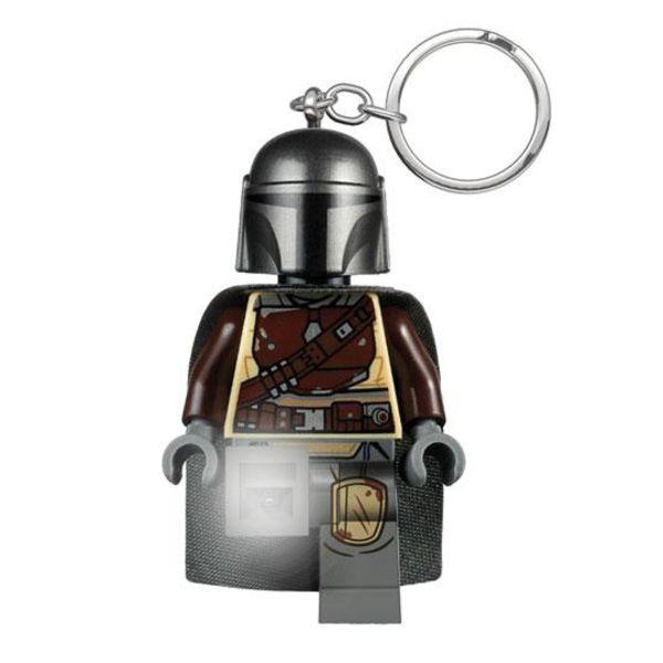 Din Djarin Lego Keychain with light Star Wars The Mandalorian