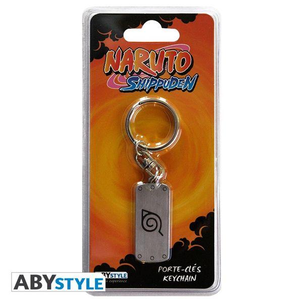 Key Chain Bandana Konoha Naruto Metalic Bandana
